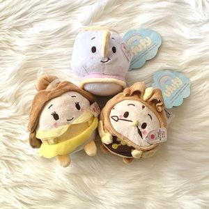 Disney Ufufy Scented Beauty & The Beast Bundle
